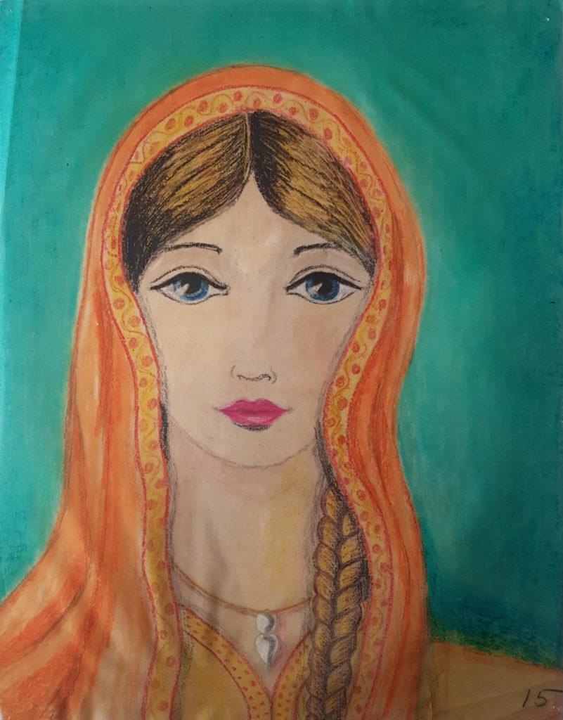 Pastel, Moyen-Age