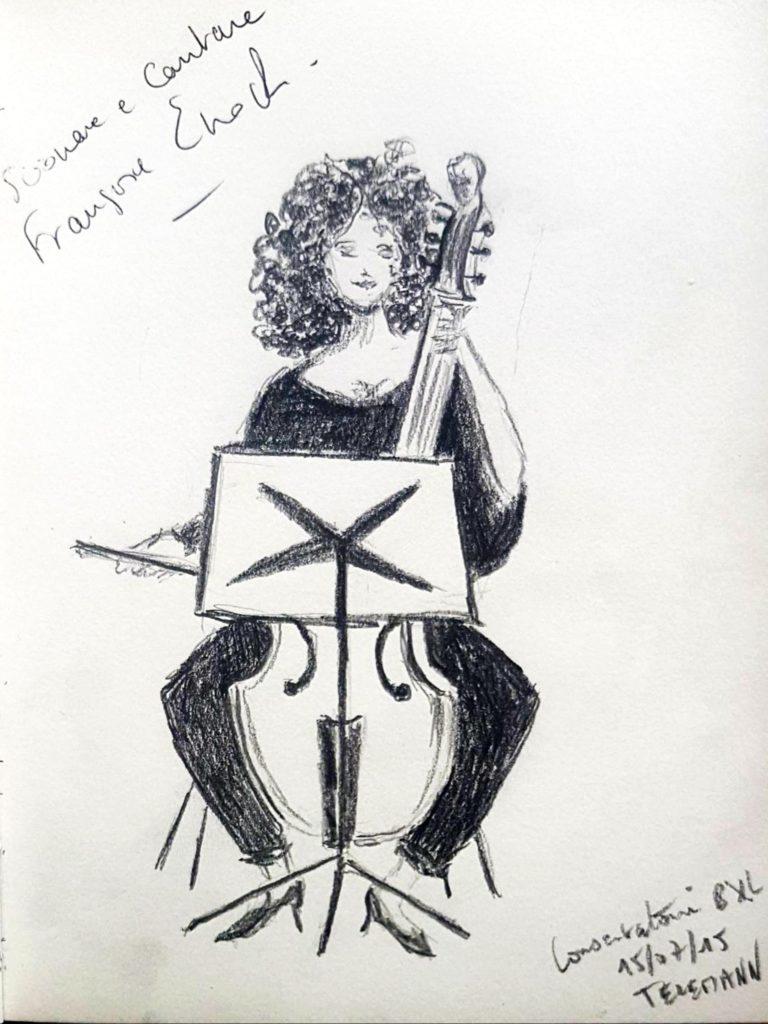 Croquis 018 Conservatoire de Bruxelles 15/07/15