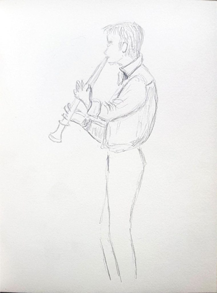 Croquis 019 Conservatoire de Bruxelles (2015)