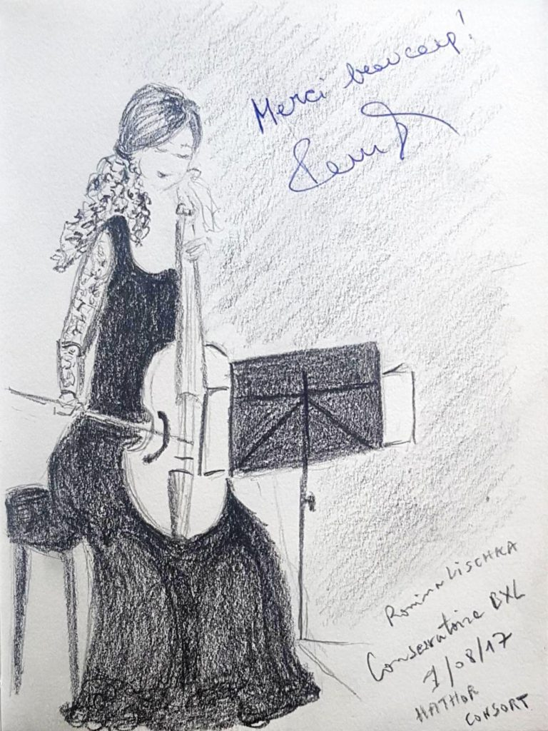 Croquis 028 Conservatoire de Bruxelles 01/08/17