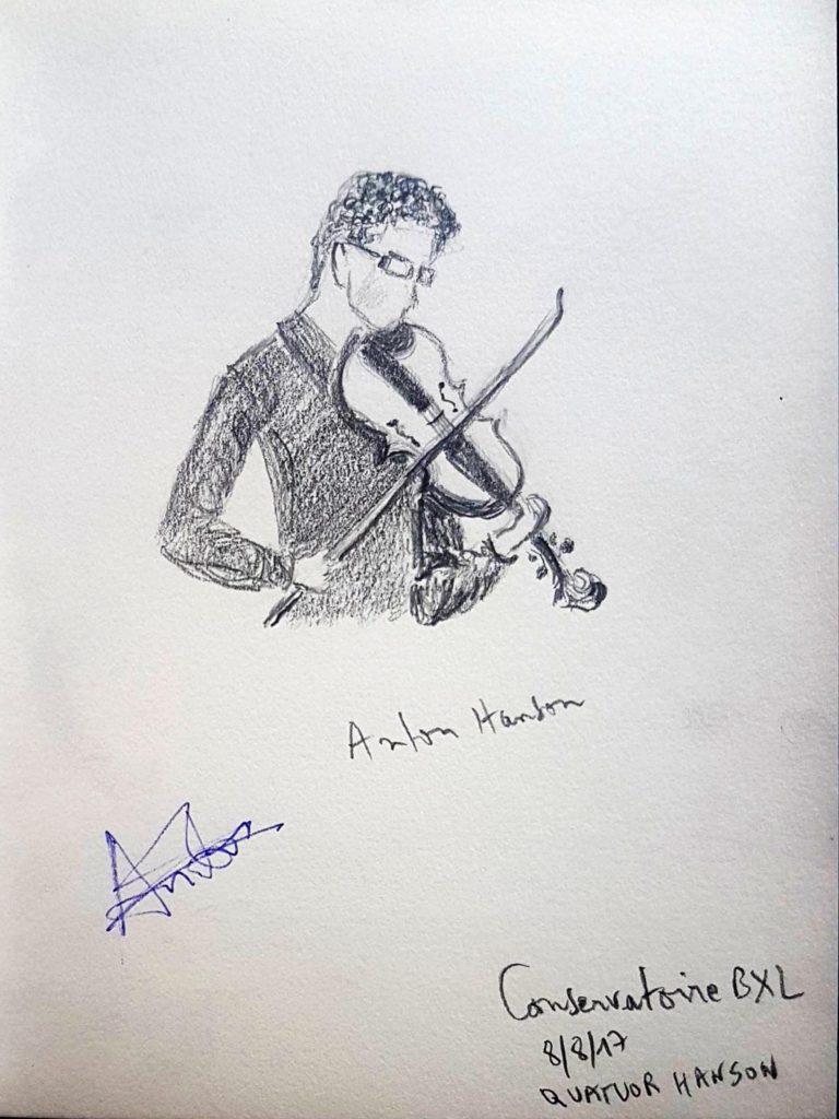 Croquis 030 Conservatoire de Bruxelles 08/08/17