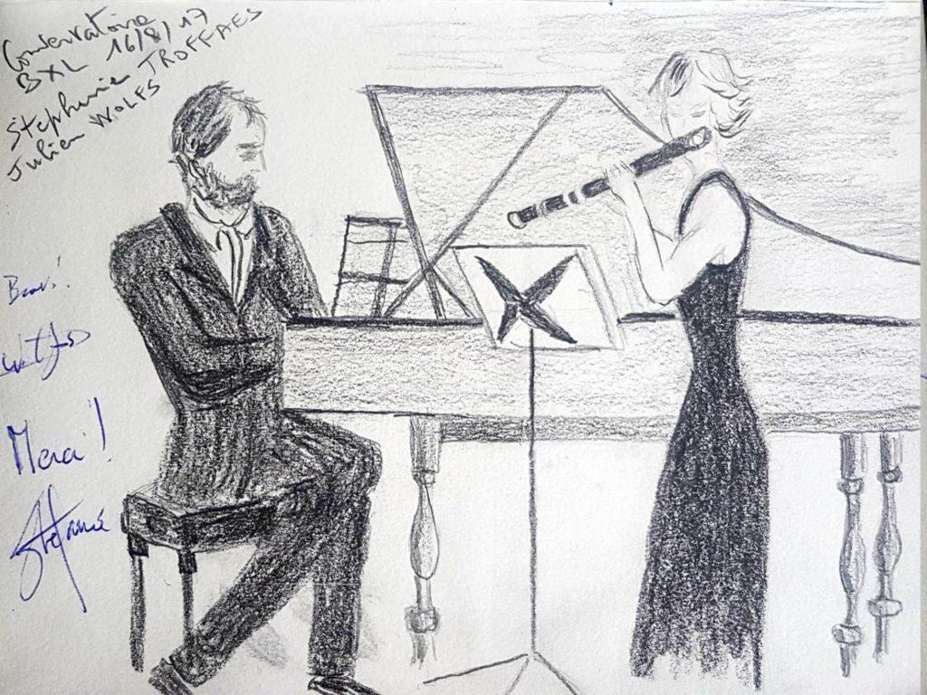 Croquis 032 Conservatoire de Bruxelles 16/08/17