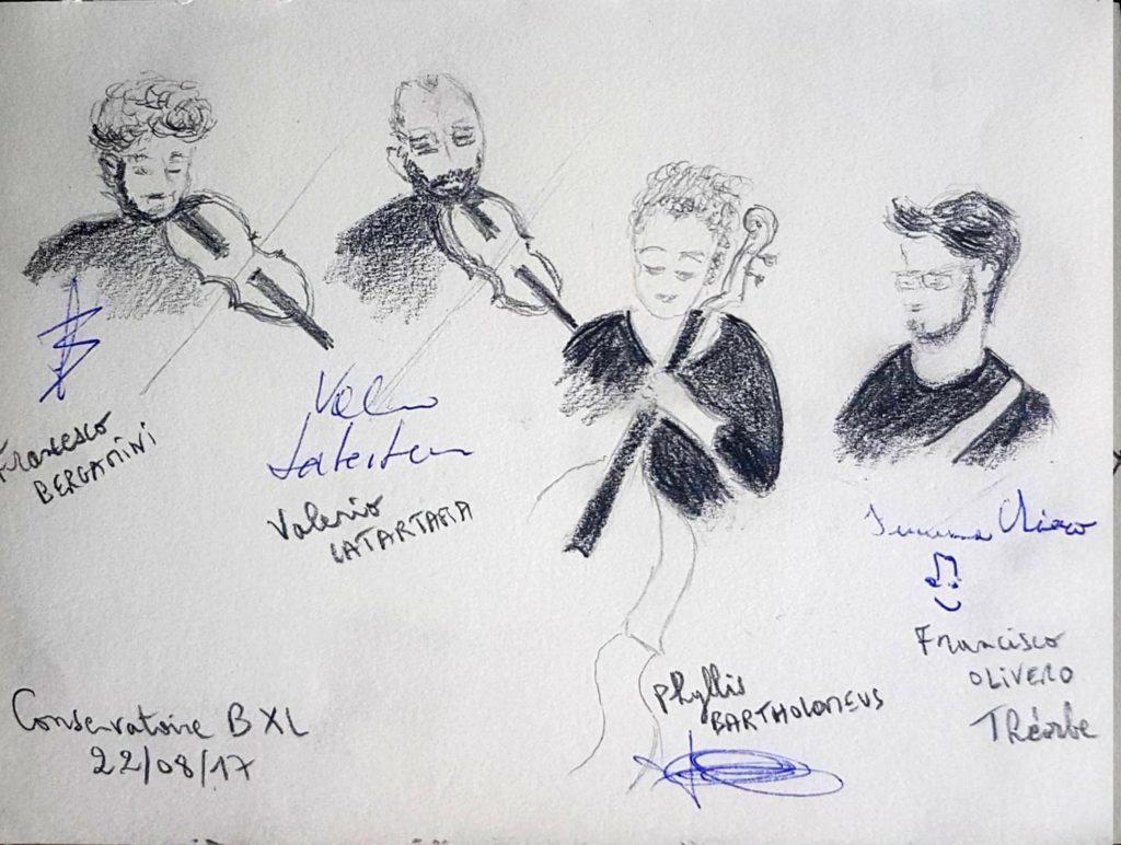 Croquis 033 Conservatoire de Bruxelles 22/08/17