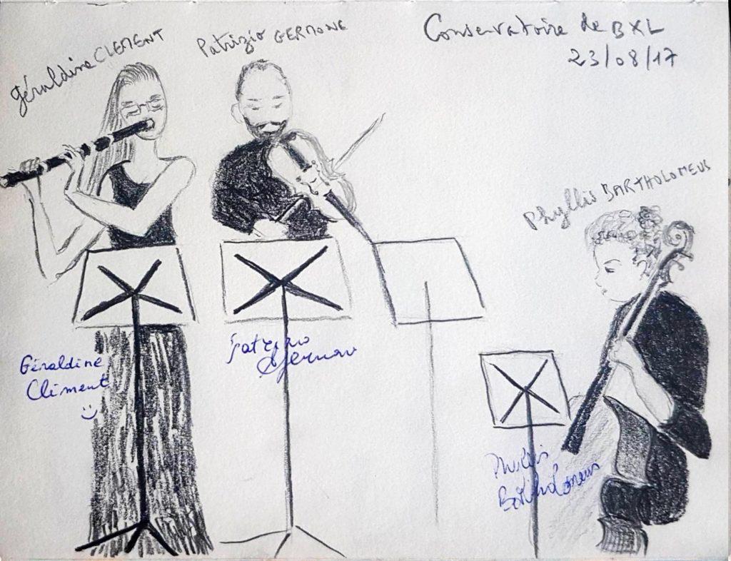 Croquis 034 Conservatoire de Bruxelles 23/08/17