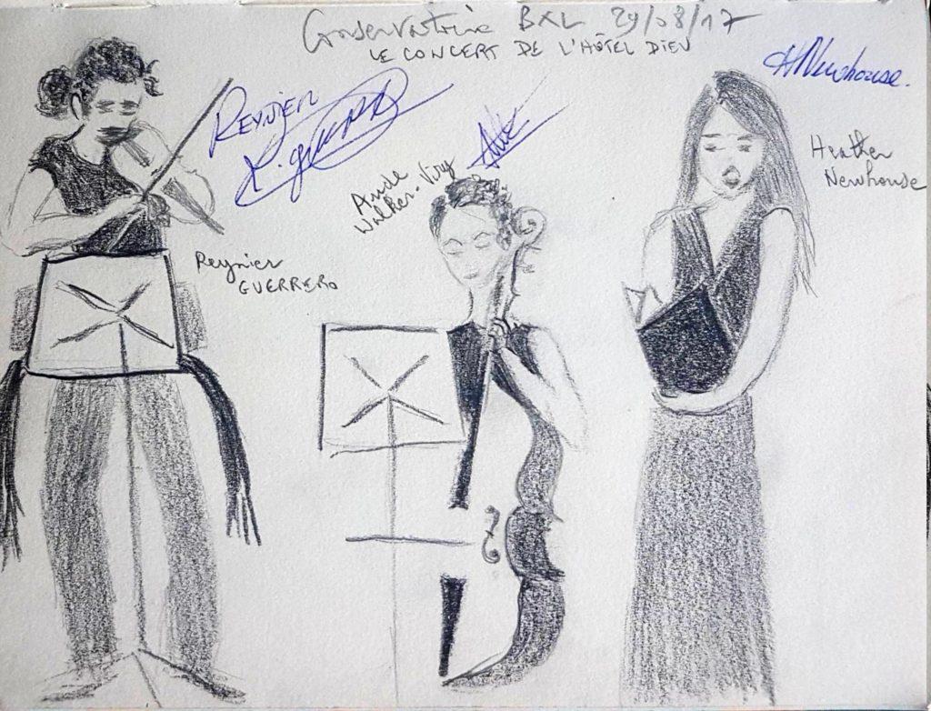 Croquis 084 - Conservatoire de Bruxelles 29/08/17