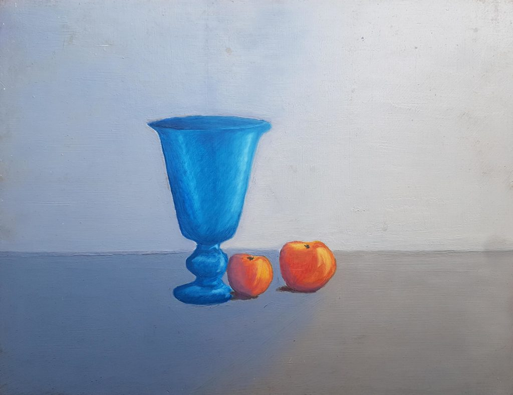 ORANGE ET BLEU